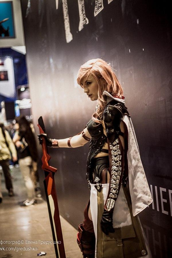 Конкурс косплея по Final Fantasy на ИгроМире 2013