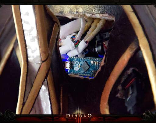 Diablo III - Своими руками: косплей Протосса-Чародея [Protoss Wizard]