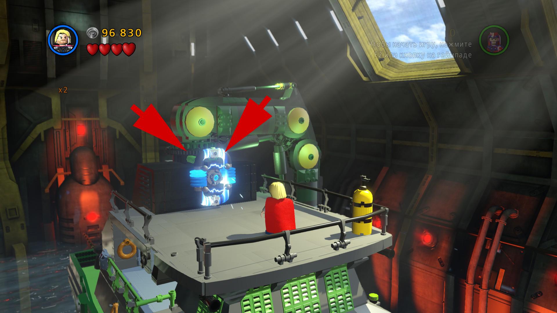 Прохождение свободной игры lego marvel
