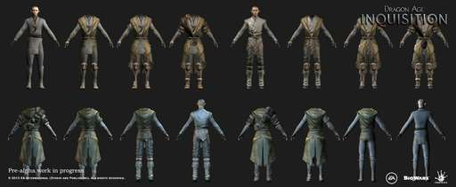 Dragon Age: Inquisition - Work in progress