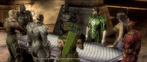 Injustice: Gods Among Us - Часть II: Дочь войны. Один день в Injustice: Gods Among Us