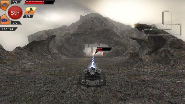 Скачать торрент rock n roll racing 3d.