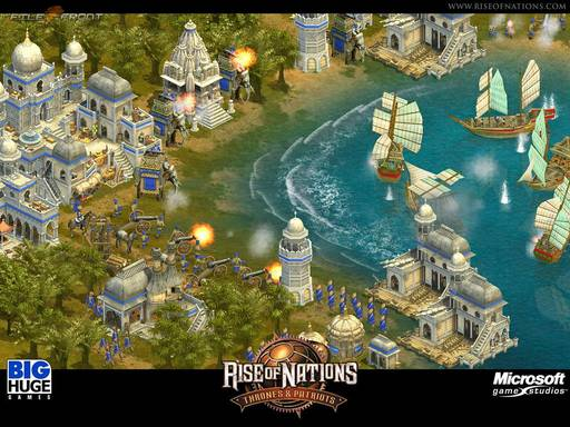Rise of Nations - Rise of Nations. И не одна!