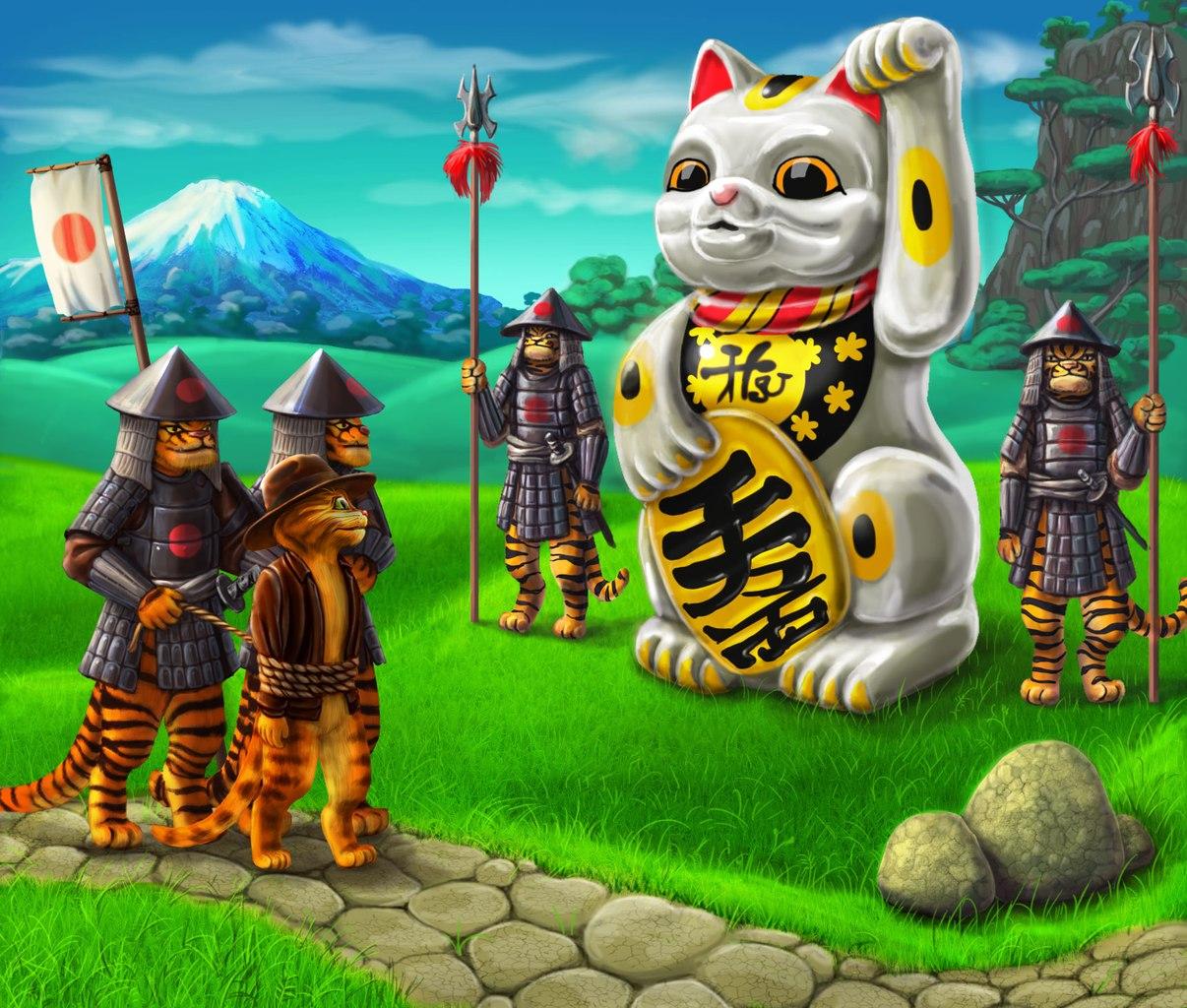Игры для двоих про кота