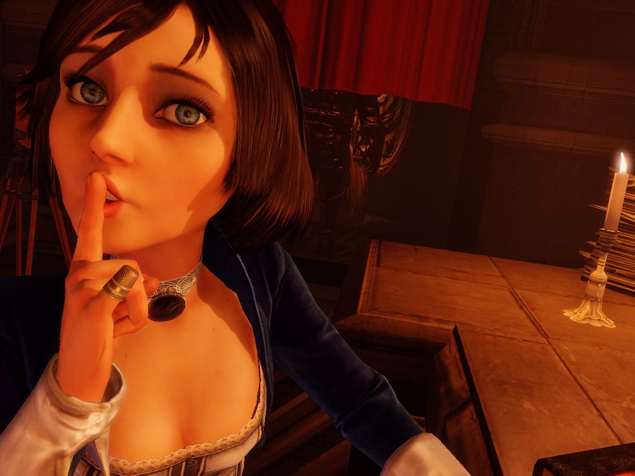 Bioshock infinite elizabeth hot smut girl