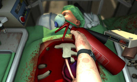 Surgeon Simulator 2013 - Surgeon Simulator на iPad