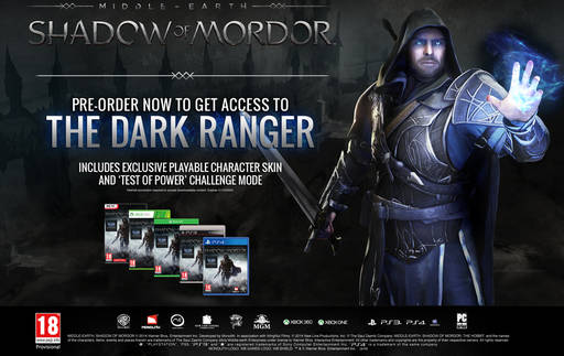 Middle-earth: Shadow of Mordor - Бокс-арты и бонус предзаказа Middle-earth: Shadow of Mordor