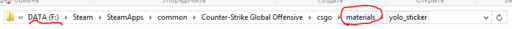 Counter-Strike: Global Offensive - Как сделать наклейку для CS: GO