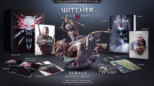 The Witcher 3: Wild Hunt - Анонс The Witcher 3: Wild Hunt Collector's edition