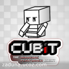 Цифровая дистрибуция - Cubit The Hardcore Platformer Robot steam free