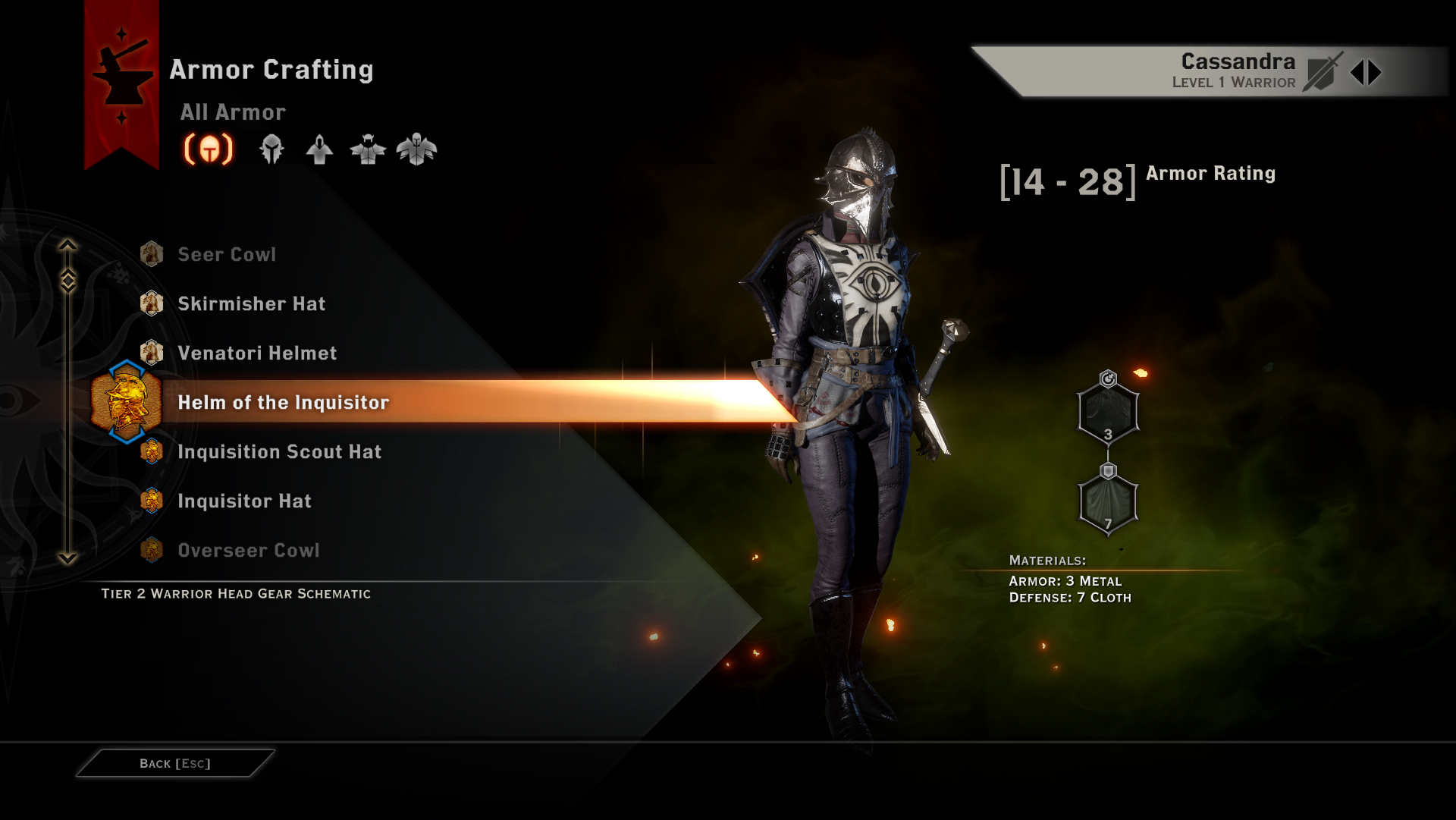 Dragon Age Inquisition What To Focus On When Crafting Bow