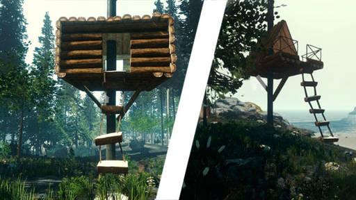 The Forest - Крафт, постройки, карта острова!
