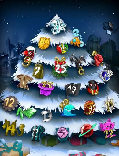 Urban Rivals каждый день подарки на новый год !