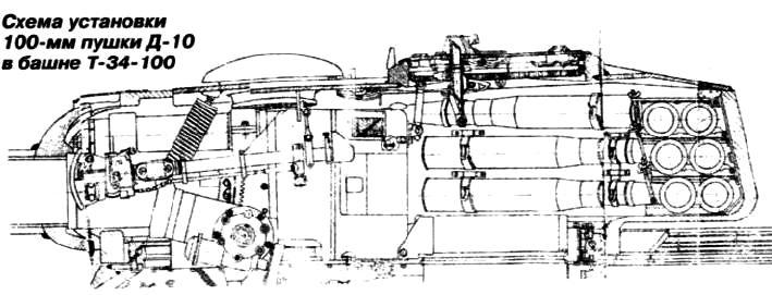 Танк Т-34-100