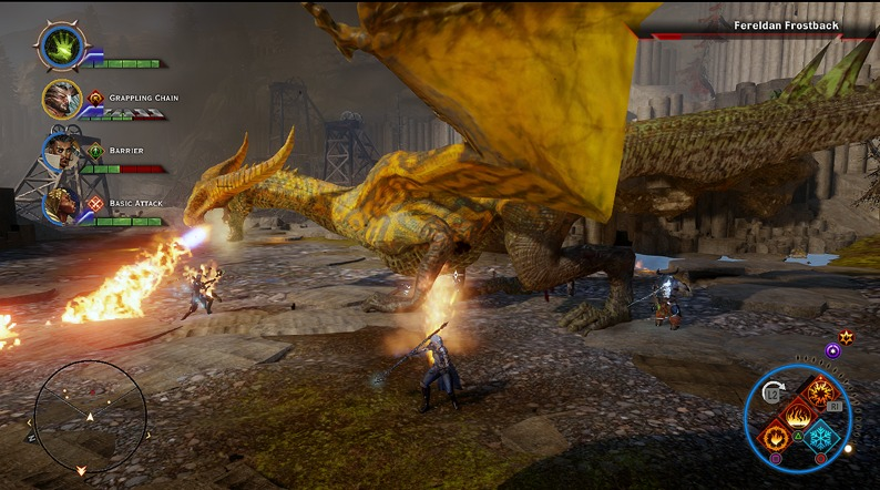 Dragon age inquisition: Убийство дракона Ферелнденский