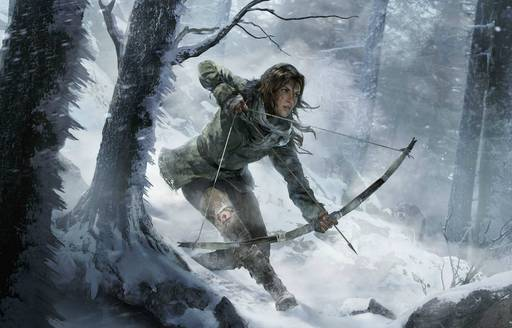 Rise of the Tomb Raider - Rise of the Tomb Raider, или Добро пожаловать в Россию, мисс Крофт