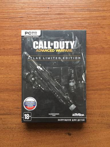 Call of Duty: Advanced Warfare - Call of duty Advanced Aarfare Atlas Limited Edition Фото обзор (Обновленный вариант)