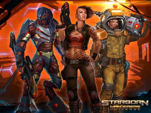 Starborn Wanderers Universe - Старт открытой разработки игры Starborn Wanderers Universe