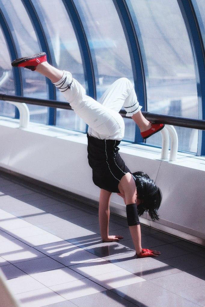 Mirror's edge как сделать сальто перед приземлением