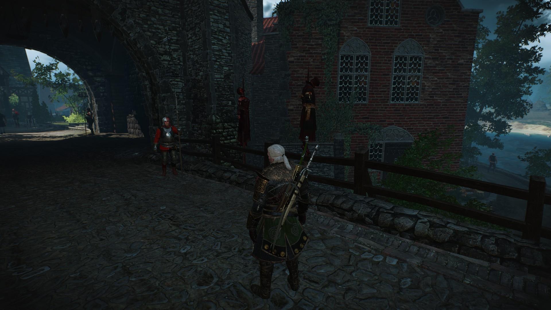 Ведьмак 3 Камердинер Не Идет