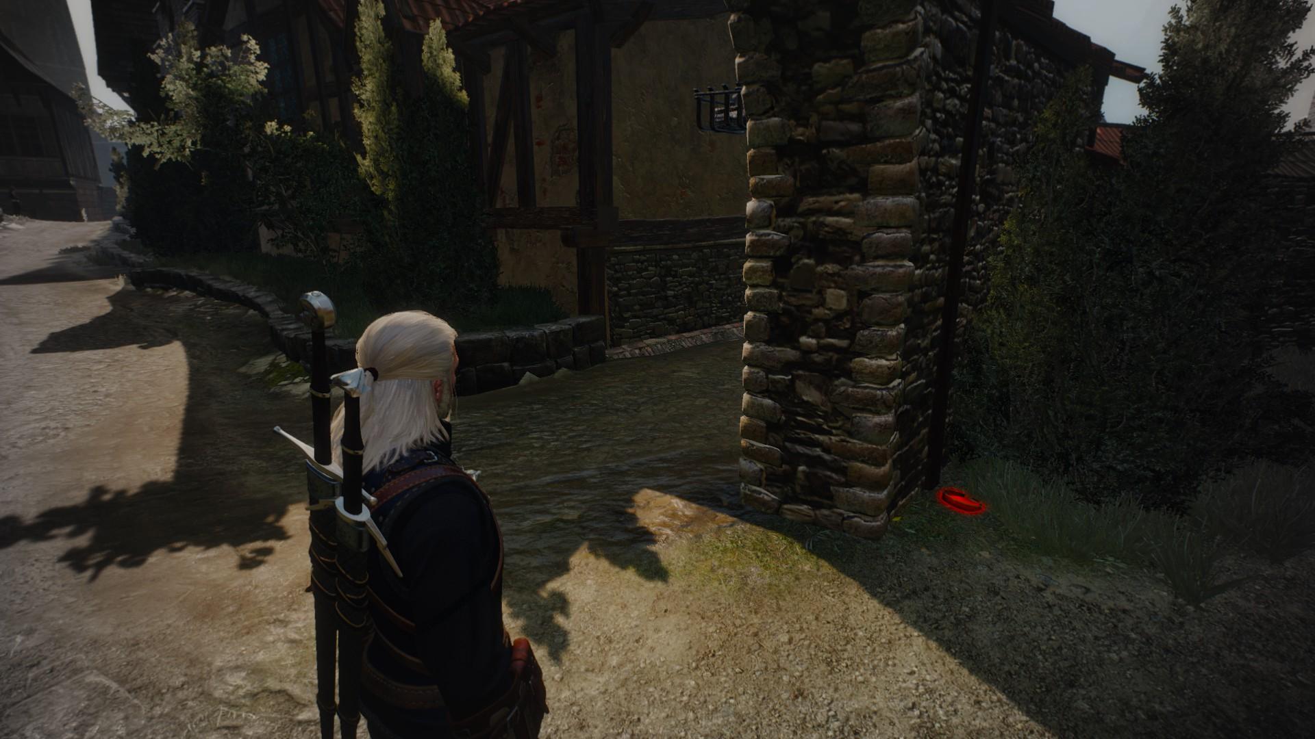 witcher 3 таинственные следы приманка