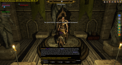 Shroud of the Avatar: Forsaken Virtues - Прохождение Shroud of the Avatar. Часть 2. Grannus Scepetr