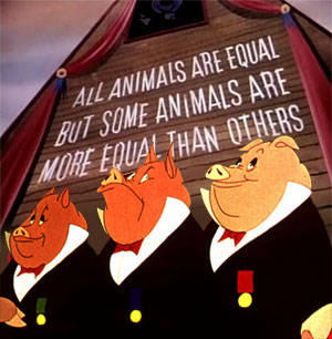 Обо всем - Animal Farm. Равнее других