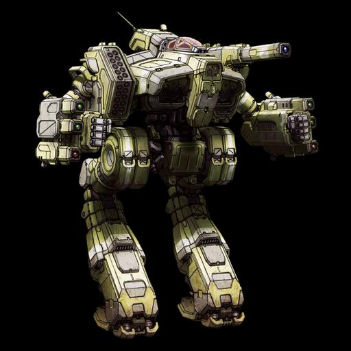 MechWarrior Online - Hellfire. Реинкарнация другого меха