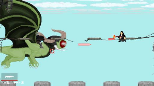 Новости - Gun Rage - Run 'n gun в духе Contra и Metal Slug увидит свет этим летом