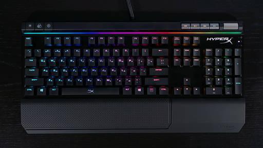 Игровое железо - Обзор клавиатуры HyperX Alloy Elite RGB