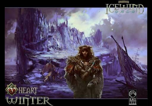 """Icewind Dale: Долина ледяных ветров - """"Icewind Dale, Heart of Winter"""" - одиночное прохождение, часть первая."""