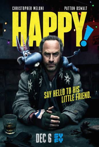 """Про кино - """"Хэппи!"""". Рождественская черная комедия про убийцу и голубого единорожика"""