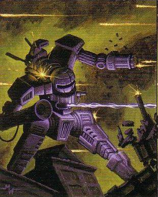 MechWarrior Online - Вулкан. Мех-пугало для пехоты