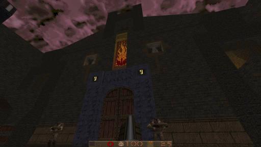 Quake - Intrusion – моя первая карта для Quake 1