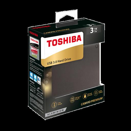 Игровое железо - Внешний накопитель Toshiba Canvio Premium