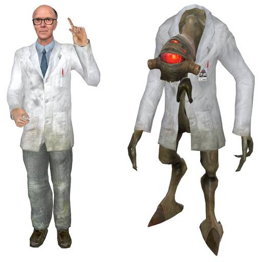 Half-Life - Гордон Фримен в отпуске