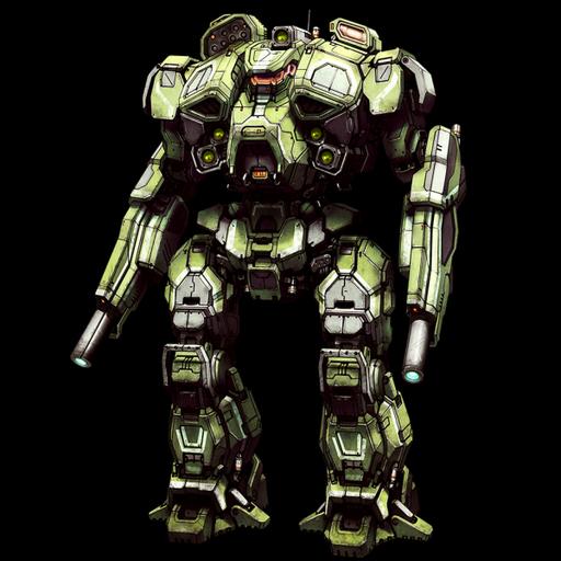 MechWarrior Online - Warhammer IIC. Хорошая штурмовая версия кланов знаменитого тяжелого меха Внутренней Сферы