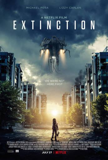 Про кино - Закат цивилизации (Extinction). Фильм с интересным поворотом, но снятый неправильно