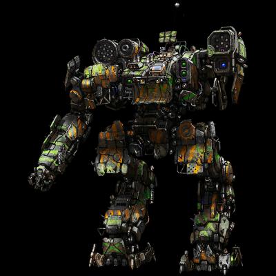 "MechWarrior Online - ""Корсар"". Пиратский мех с преобладанием лостеха"