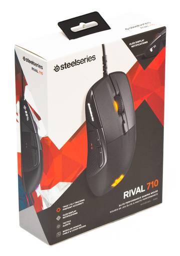 Игровое железо - Мышь SteelSeries Rival 710 (и OLED-дисплей)