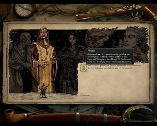 Pillars of Eternity - Обзор Pillars of Eternity II: Deadfire (пошаговые бои прилагаются)