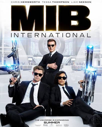 Про кино - Man in Black: International. Удался ли новый дуэт?