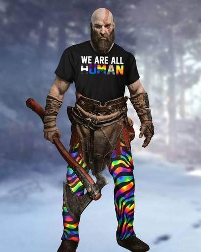 Обо всем - Главные герои God of War станут геями