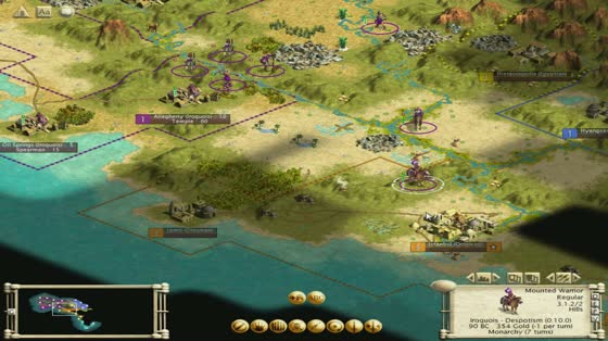 История серии Sid Meier's Civilization: Цива 3 (2001 год)