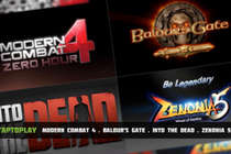 Обзор игр:  Modern Combat 4: Zero Hour, Baldur's Gate, Into the Dead, Zenonia 5